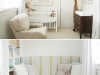 Gender Neutral Simple Nursery by Little House Blog via lilblueboo.com
