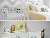 Gender Neutral Chevron Nursery by House 36 via lilblueboo.com