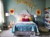 butterfly girls bedroom decor via lilblueboo.com
