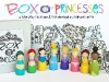 Princess peg dolls with free download via lilblueboo.com