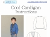 Boy's Cardigan Sweater PDF Sewing Pattern and Tutorial by Blank Slate Patterns via lilblueboo.com
