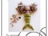 Mermaid Tail for Doll Free PDF Pattern and Tutorial via lilblueboo.com