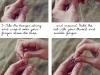 How to finger crochet click for the rest via lilblueboo.com