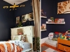 Cozy reading nook and other boy's bedroom decor ideas via lilblueboo.com