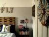 Vintage airplane theme and other boy's bedroom decor ideas via lilblueboo.com