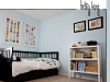 Book wall art and other boy's bedroom decor ideas via lilblueboo.com