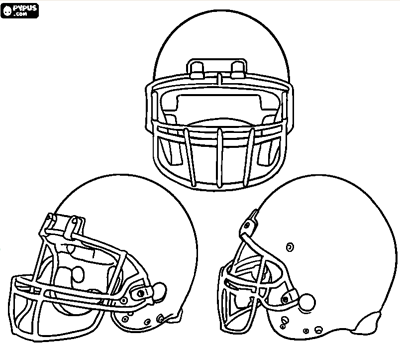 Kid Friendly Super Bowl Ideas: Free Football Coloring Pages  via lilblueboo.com