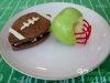 Kid Friendly Super Bowl Ideas: Football Snacks via lilblueboo.com