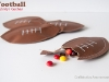 Kid Friendly Super Bowl Ideas: Football Candy Pouches via lilblueboo.com