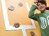 Kid Friendly Super Bowl Ideas:  Wall Football Game via lilblueboo.com
