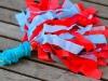 Kid Friendly Super Bowl Ideas: DIY Pom Poms  via lilblueboo.com