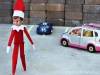 Double Parking Elf on the Shelf via lilblueboo.com