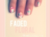 Spring Nail Art Ideas: Faded Floral Manicure at The Beauty Department via lilblueboo.com