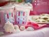 Cotton candy party favor via lilblueboo.com