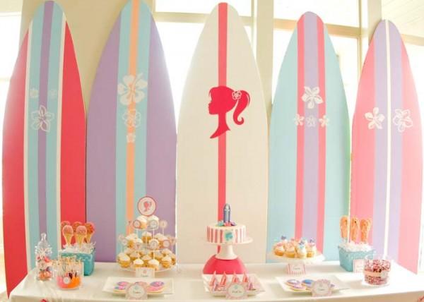 Party Ideas for Girls: Beach Barbie Party by Paisley Petal via lilblueboo.com