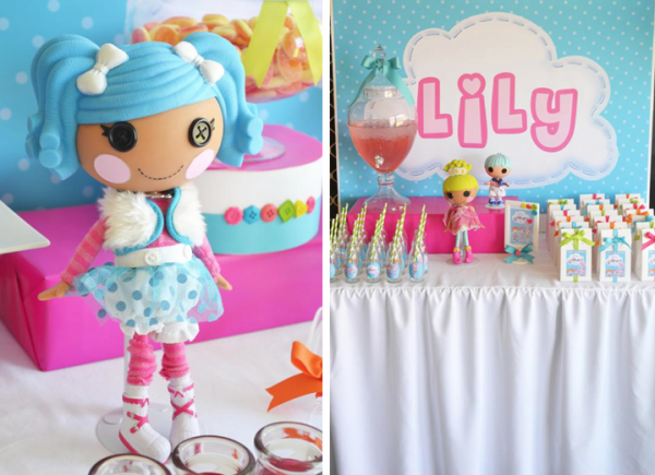 Party Ideas for Girls: Lalaloopsy Party by Sugar Sweet Buffets featured on Kara's Party Ideas via lilblueboo.com