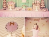 Party Ideas for Girls: Pink and Gold Ballerina Party by Paiges of Style featured on HWTM via lilblueboo.com