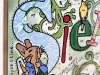 Peter Rabbit inspired DIY Nursery Art - Tutorial via lilblueboo.com