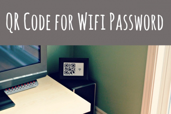 Random Household Tips: Guests will never ask you for your WiFi password again! Tutorial at Tixeretne via lilblueboo.com