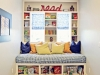 Reading Nook or Corner Space for Kids at Hiya Papaya via lilblueboo.com