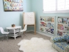 Reading Nook or Corner Space for Kids by Adella and Co. via lilblueboo.com