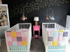 Shared Bedroom Ideas for Kids: Infant Twins Shared Room at Project Nursery via lilblueboo.com