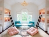 Shared Bedroom Ideas for Kids: Built in bunks at Little Lovely via lilblueboo.com