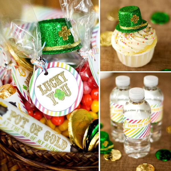 Free DIY St. Patrick's Day Printables at HWTM via lilblueboo.com