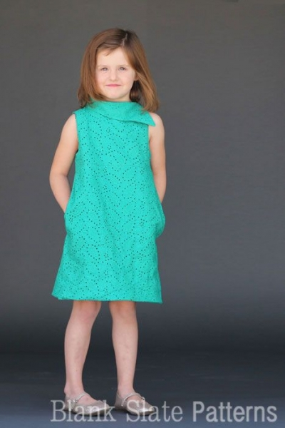Summer Sewing Patterns: Fresh Bloom Frock Dress PDF Sewing Pattern via lilblueboo.com