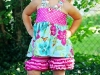 Summer Sewing Patterns: Ruffle Short PDF Sewing Pattern via lilblueboo.com