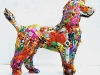 Recycled Toys - Sculpture via lilblueboo.com