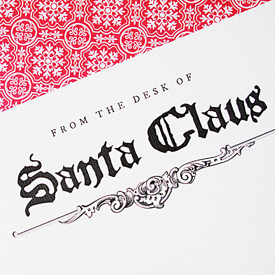 Christmas Tradition: Letter from Santa via lilblueboo.com
