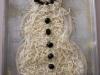 Christmas Tradition: Make a snowman pizza by Delia Creates via lilblueboo.com