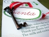 Christmas Tradition: Key for Santa when there is no chimney by The Crafting Chicks via lilblueboo.com