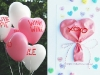 Conversation Heart Balloon Valentine's Day card from Studio DIY via lilblueboo.com