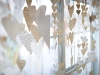 Paper Heart Garland DIY idea at Under the Sycamore via lilblueboo.com