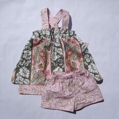 FAITH Double Layer Dress Top by Sew Sensible via lilblueboo.com