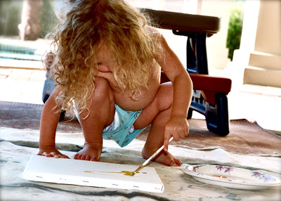 My Little Pollock via lilblueboo.com