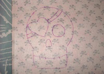 Reverse Applique Tutorial step 5 via lilblueboo.com