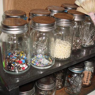 Studio Envy little jars of things via lilblueboo.com