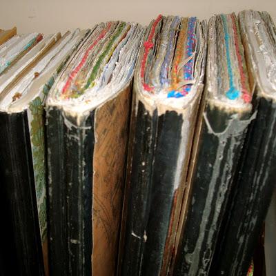Studio Envy old journals via lilblueboo.com