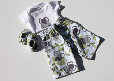 Elephant Infant Gift Set via lilblueboo.com