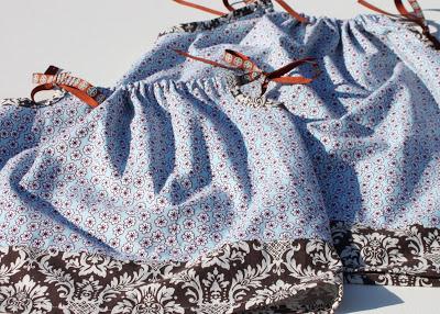 Big Sister/Little Sister Pillowcase Dresses 2 via lilblueboo.com