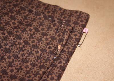 DIY border fabric sundress sewing tutorial step 10 via lilblueboo.com