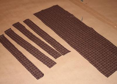 DIY border fabric sundress sewing tutorial step 3 via lilblueboo.com