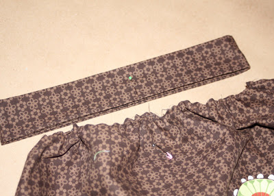 DIY border fabric sundress sewing tutorial step 12 via lilblueboo.com