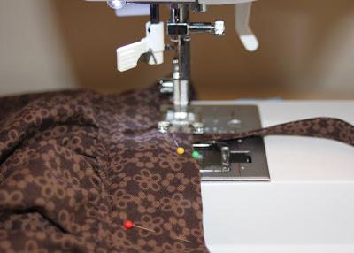 DIY border fabric sundress sewing tutorial step 20 via lilblueboo.com
