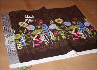 DIY border fabric sundress sewing tutorial step 2 via lilblueboo.com