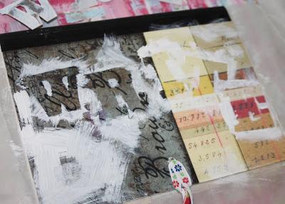 Making a Composition Book Art into a Journal 5 (Tutorial) via lilblueboo.com