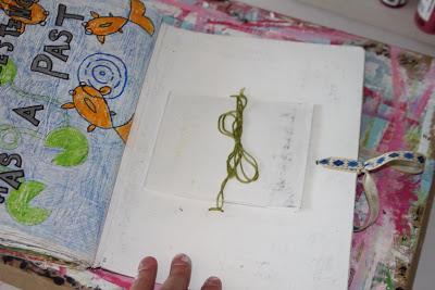 Making a Composition Book Art into a Journal 27 (Tutorial) via lilblueboo.com